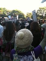 広島 デモ風景